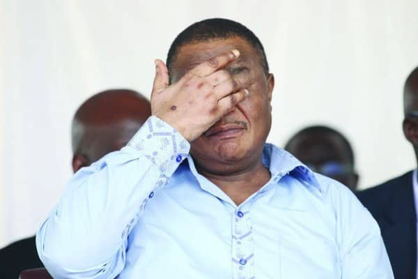 Constantino Chiwenga health