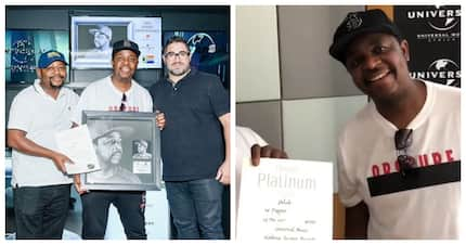 Oskido's 50 Degrees album recently achieved double platinum status