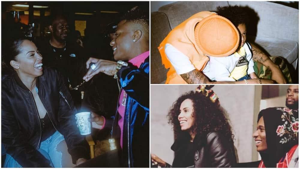 Wizkid's third baby mama Jada reveals how he met the singer