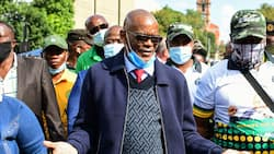 ANC secretary-general Ace Magushule appears in court to fight his suspension