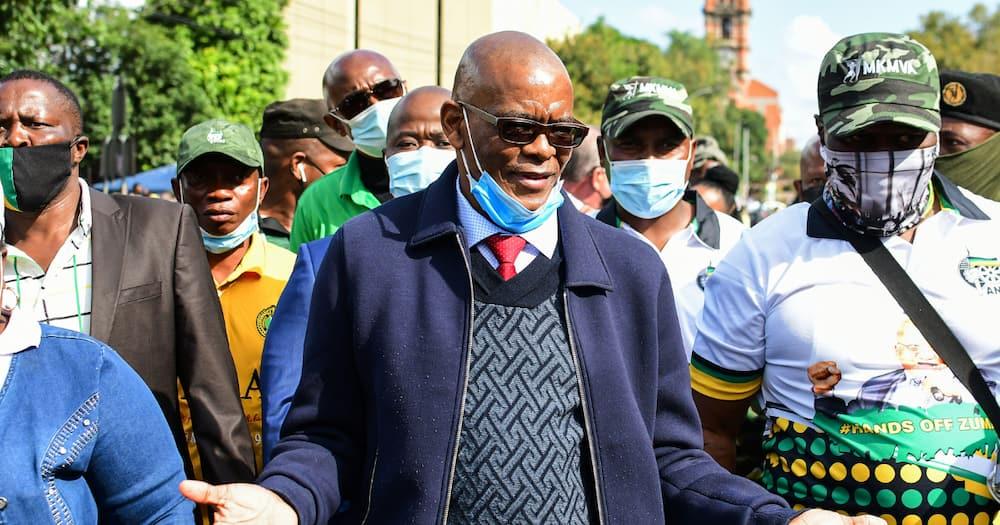 ANC Secretary-General Ace Magashule, court proceedings, suspension, Johannesburg High Court