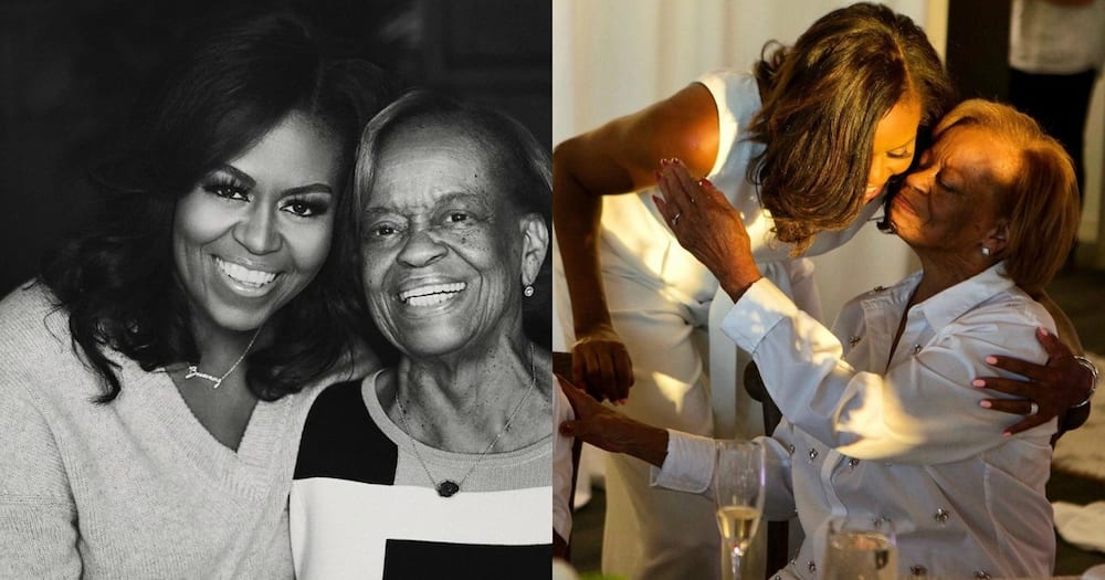 """Michelle Obama celebrates mom's birthday in sweet post: """" I have been so lucky to grow with all this"""""""