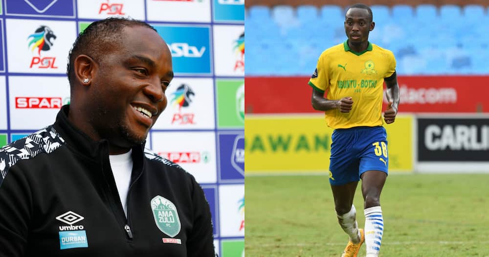 Benni Mccarthy, Peter Shalulile Titled Coach and Player of the Month