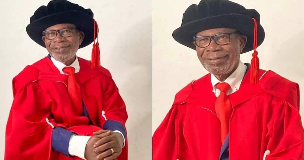 Africans, Celebrate, Man, PhD, Wits University, 75