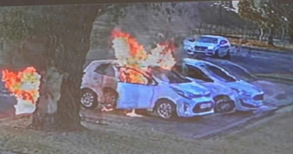 Gauteng Mother, Benoni, set on fire, boyfriend, young child