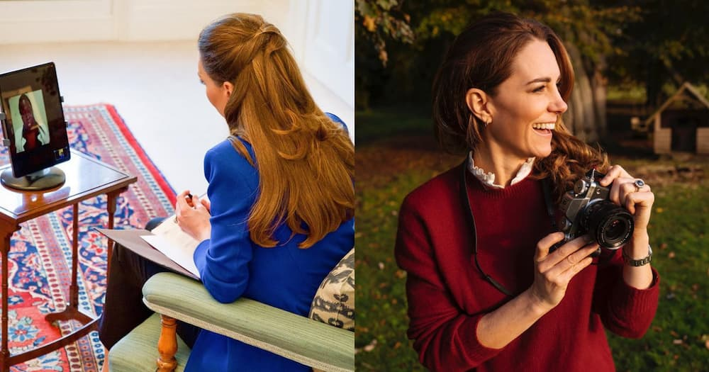 Kate Middleton Again Caught Looking Radiant In a Polished Blue Blazer