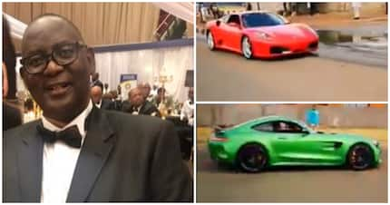 Vavi shares video of flashy cars, 'The working class couldn't believe'
