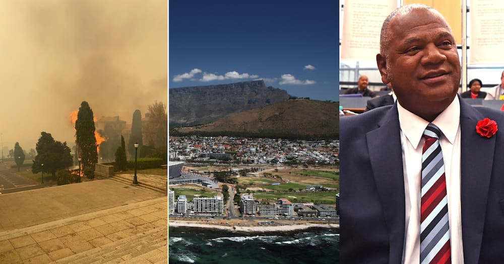 Reports State That UCT Fire Was Started Intentionally, Suspicious Vehicle Spotted