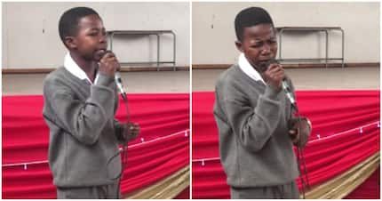 Grade 8 learner wows audience with phenomenal gospel song performance
