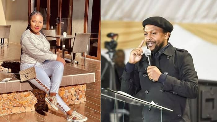 """Mbuyiseni Ndlozi shows love to Makhadzi, Mzansi reacts: """"She is our queen"""""""