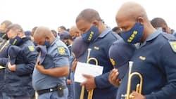 """""""I salute them"""": Local man thanks dedicated SA cops, Mzansi really divided"""