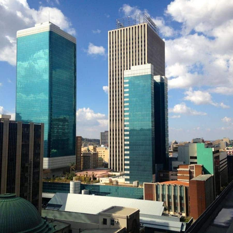 Cities with tallest buildings in Africa