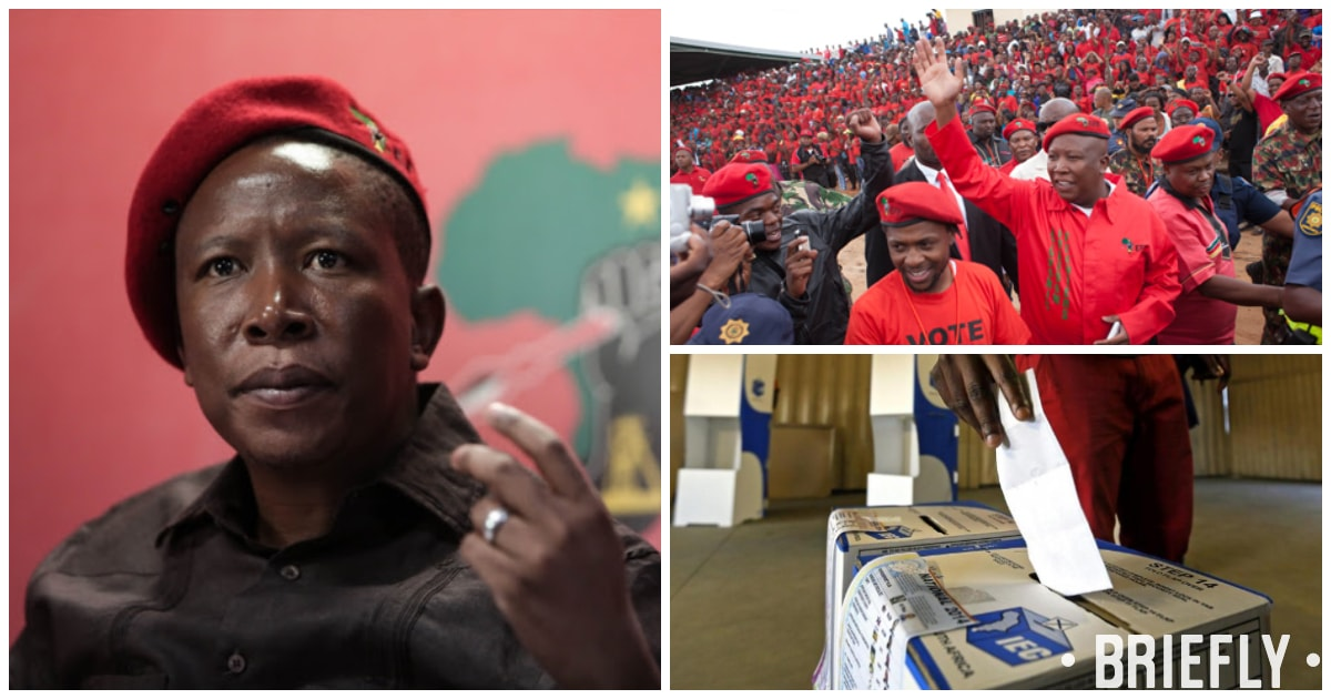 Julius Malema wants 9 million votes for EFF at the 2019 election