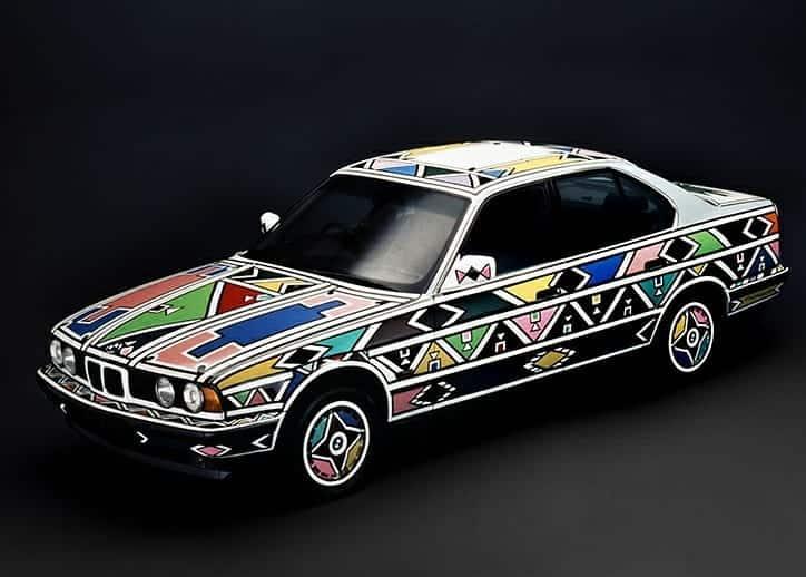 Estherr Mahlangu BMW