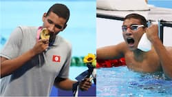 Ahmed Hafnaoui: 18-year-old African athlete wins Olympic gold in 400m swimming