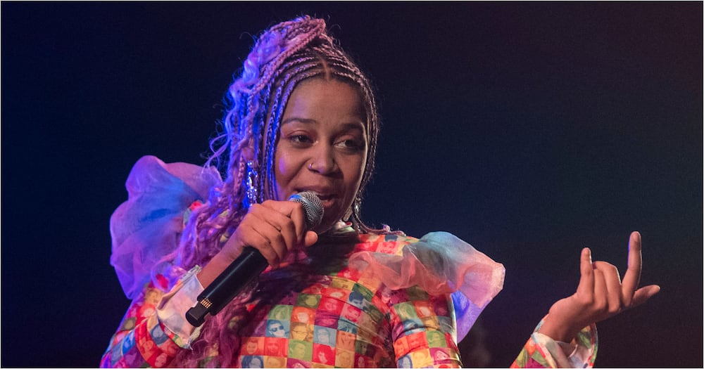 Sho Madjozi performs in Tanzania, doesn't let the rain stop her