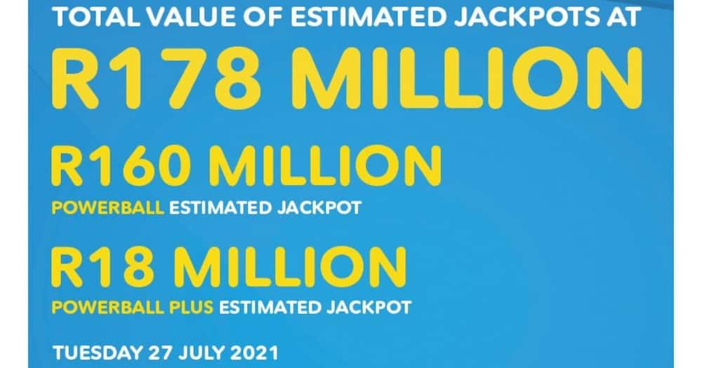 Locals, R18m, Powerball, Jackpot