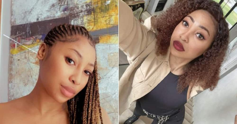Enhle Mbali's electricity gets cut off and Mzansi suspects foul play