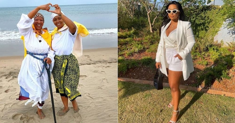 Boity, Mom, distances herself, from online account, scamming unsuspecting people