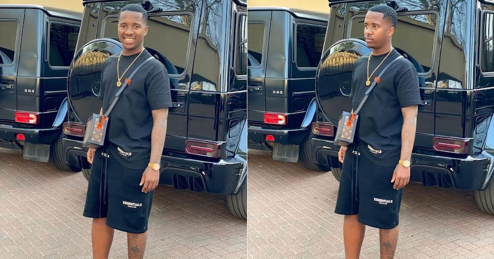 Andile Mpisane bags international award nominations, Mzansi confused