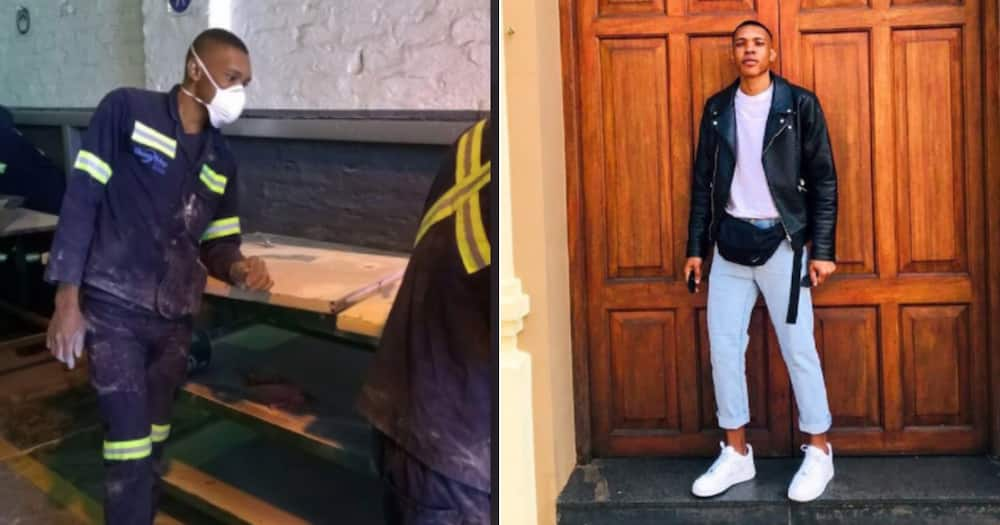 'Work vs Weekends': Man Shares Cool Before & After Snaps, Mzansi Reacts