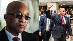 Jacob Zuma: Videos show Zuma's convoy leaves Nkandla at highspeed minutes before arrest deadline