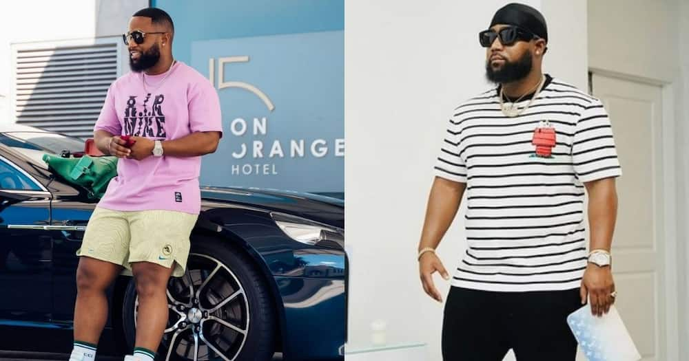 """Cassper Nyovest Gets Mobbed by a Huge Crowd at Mall: """"Even Guys Were Screaming"""""""
