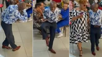 """""""Whose uncle is this"""": SA reacts to video of funky madala with epic dance moves"""