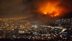 Cape Town fire: UCT student describes truly harrowing experience