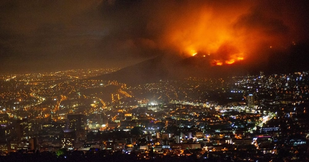 Cape Town Fire: UCT Students describe harrowing experience