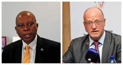 Mashaba throws shade at Hanekom's wife after being accused of dropping standards
