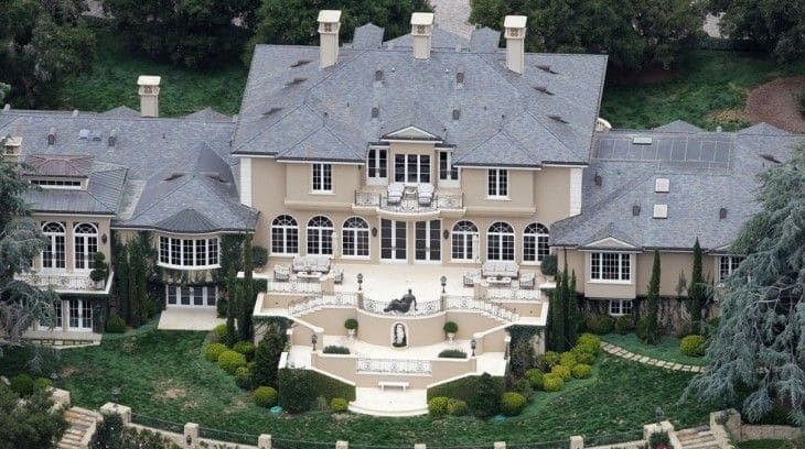 most expensive celebrity homes in the world