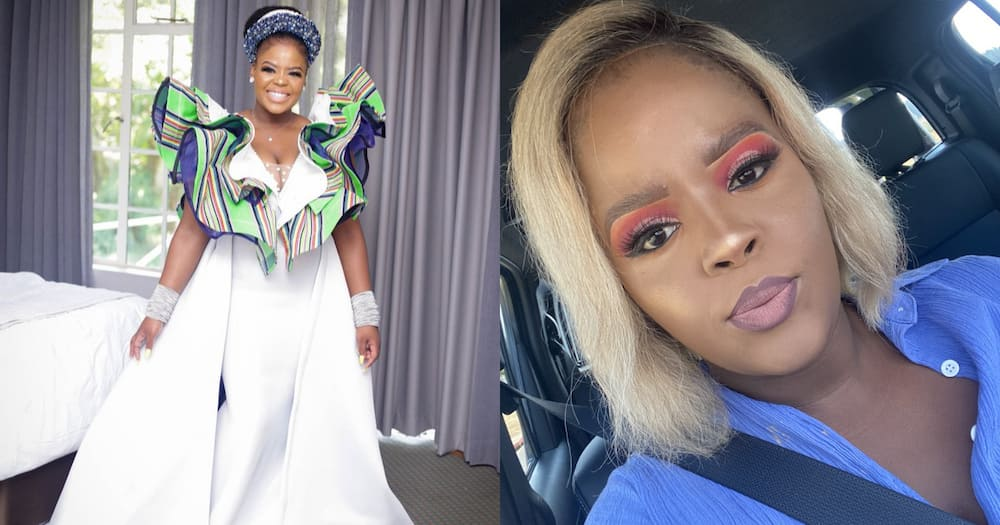 SA lady weds in beautiful gown
