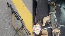 Student protestors arrested with high calibre assault rifle in their possession