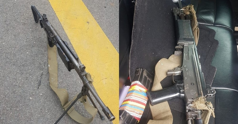 2 Students Arrested for Possession of High Calibre Assault Rifle