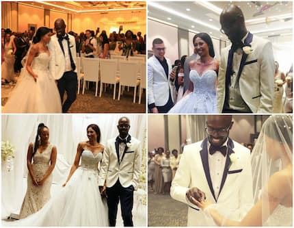 Black Coffee wedding dance videos, pictures, and story