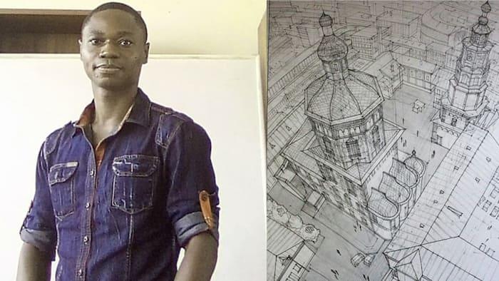 Augustine Owusu Mensah: Meet JHS teacher who is an expert at complex but beautiful artworks