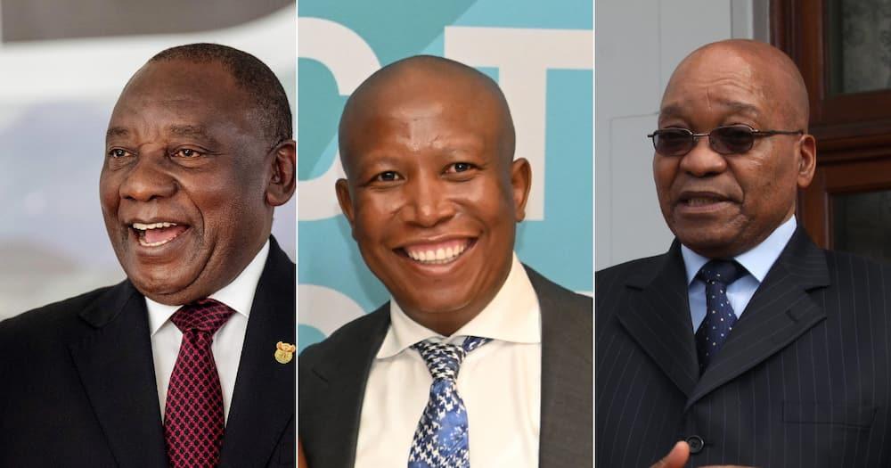 Julius Malema, Cyril Ramaphosa, Jacob Zuma, EFF, ANC Youth League, Nkandla