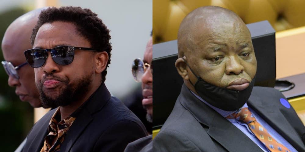 """Mbuyiseni Ndlozi Shades Gwede Mantsashe, Mzansi Reacts: """"Be Careful"""""""