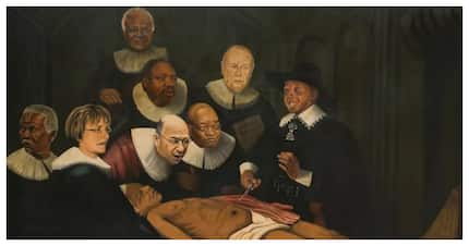 Controversial 'racist' painting of Madiba sells for a whopping R450 000