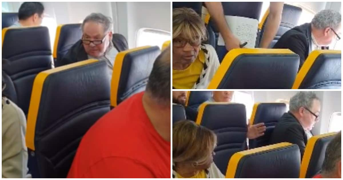 'I feel very low': elderly victim of racist tirade on plane - Ireland