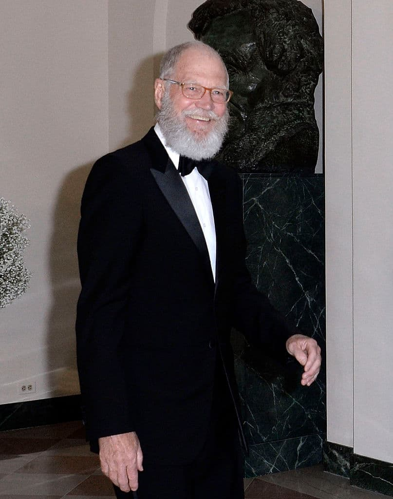 David Letterman lifestyle