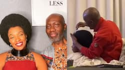 Loving husband says he has combed his wife's afro for 23 years