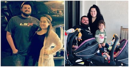 Woman in disbelief as paralysed boyfriend stands up as he proposes