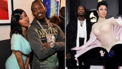 Cardi B and Offset jam to 'Jerusalema' at baby Kulture's party