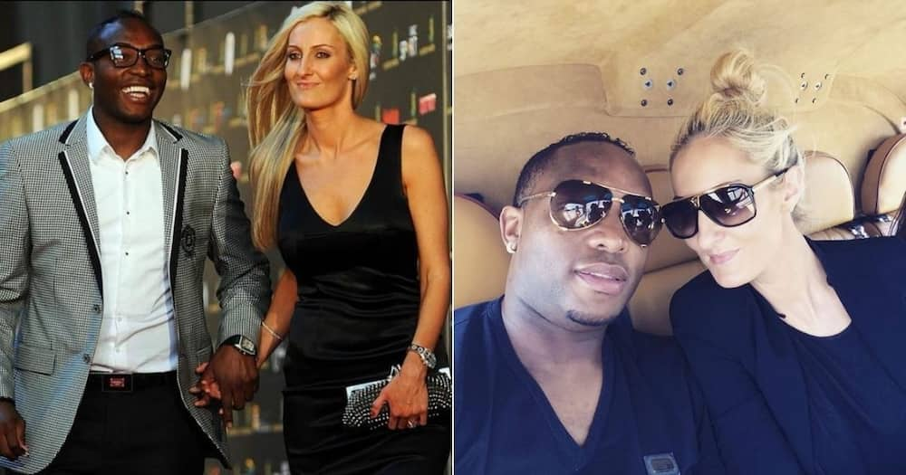 Benni McCarthy's wife Stacey has conveyed a sweet message to her husband. Image: @StaceyMcCarthy17/Instagram