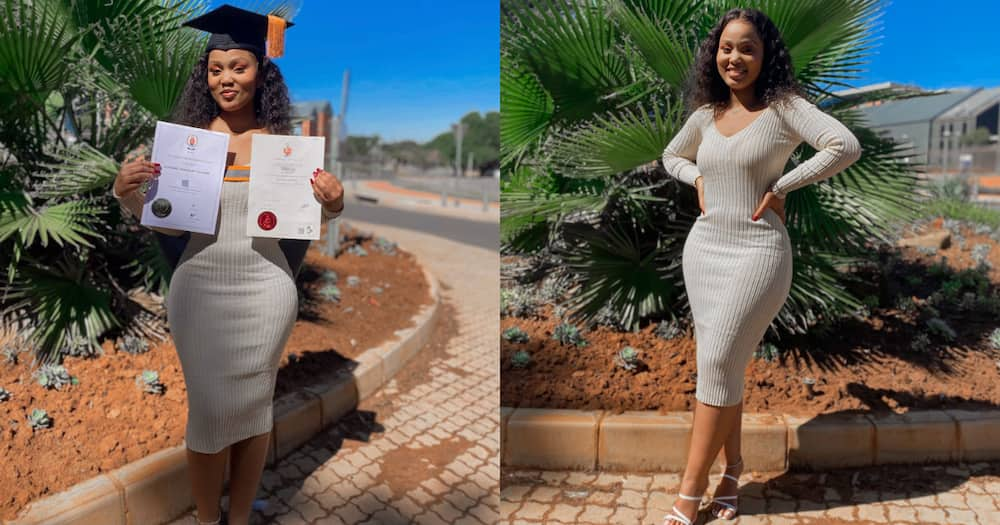 Exceptional Beauty and Brains: Bombshell SA Lady Graduates Cum Laude