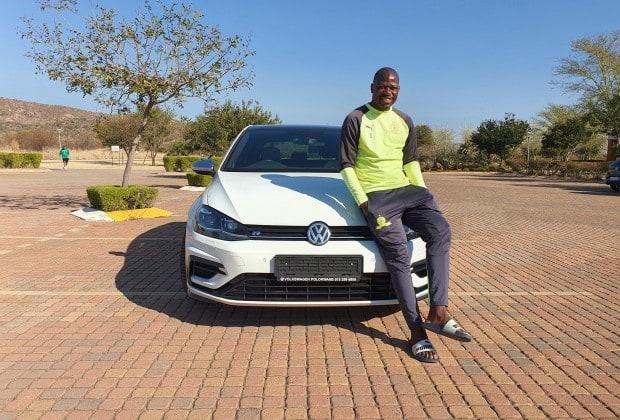 Footballer Hlompho Kekana gets a new whip worth an impressive R700 000