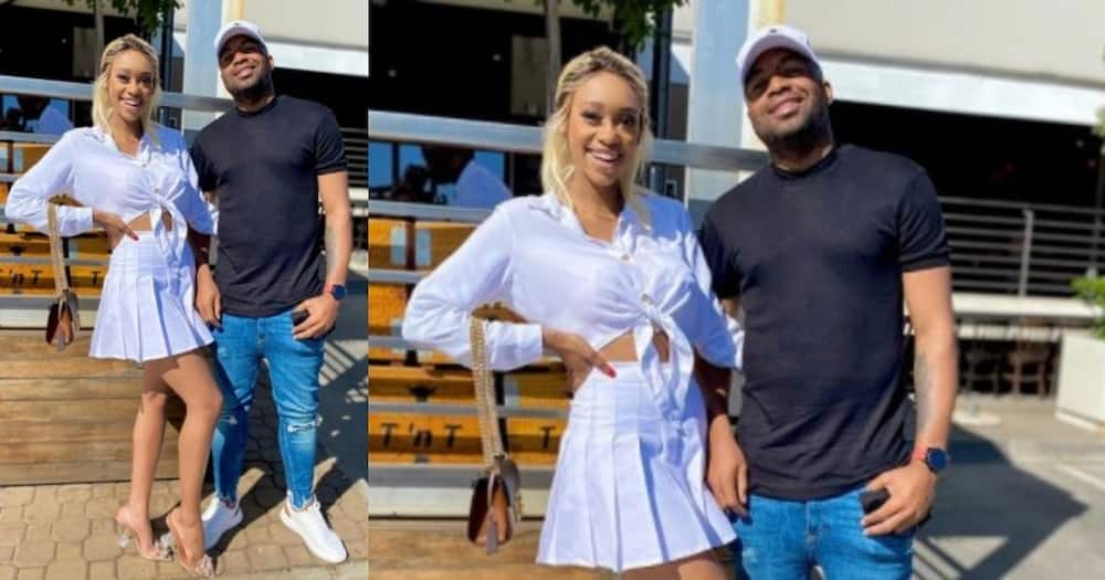 Sphelele posts sweet snaps with her hubby, Itumeleng Khune