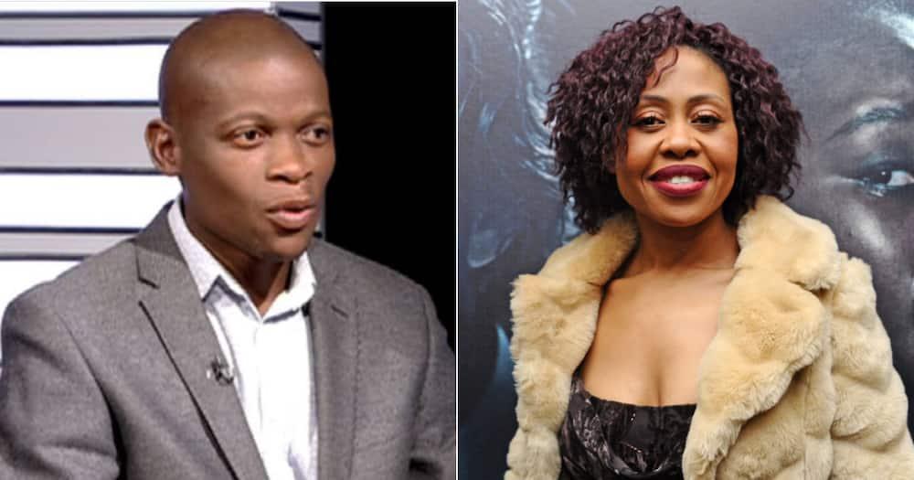 """""""Self-Made Joke"""": Redi Tlhabi Fires Shots at Piet Rampedi, Mzansi Not Impressed"""
